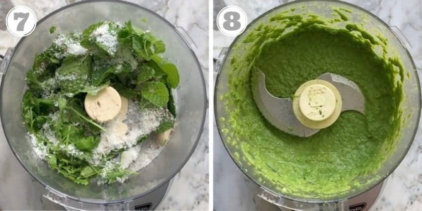 easy mint cilantro chutney