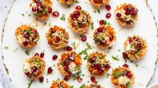 Aloo Chaat in Phyllo Cups