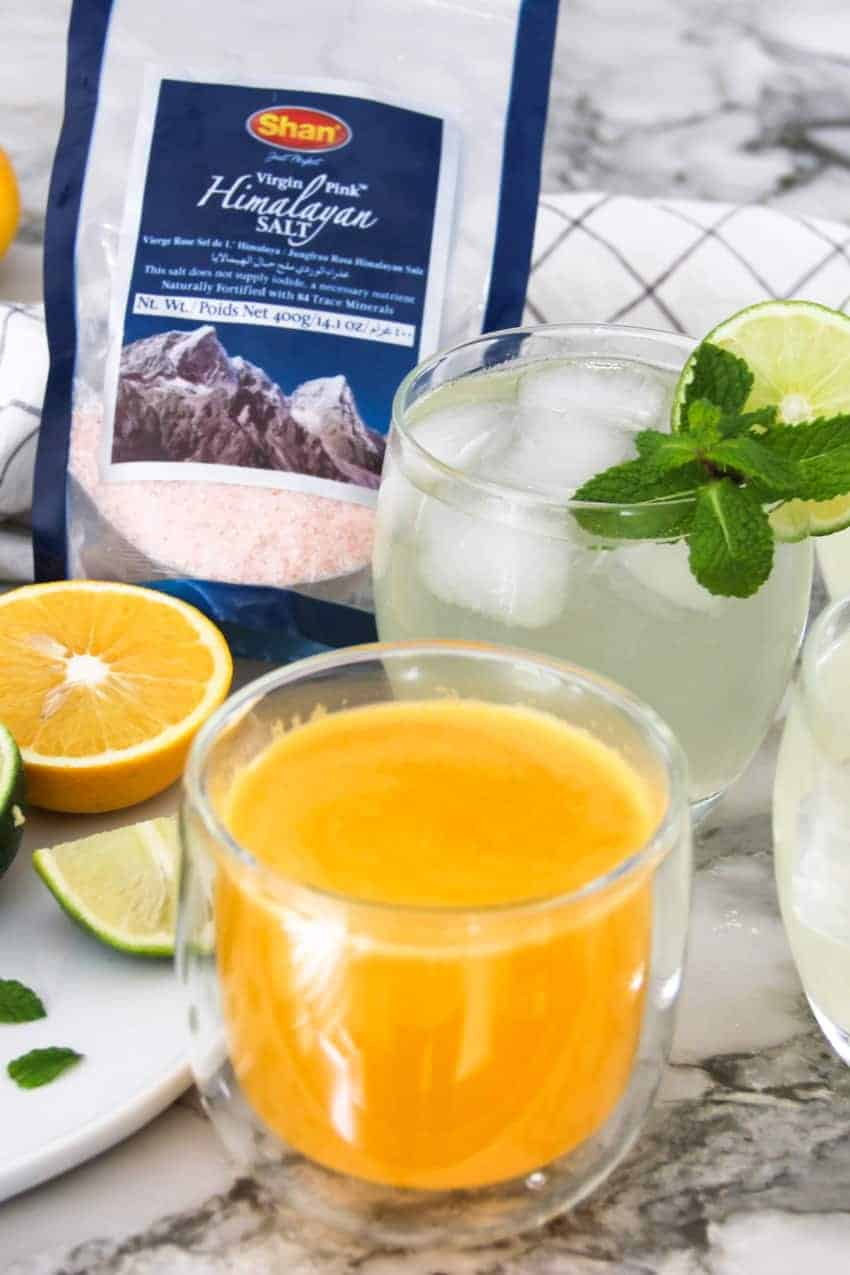 home made electrolyte drinks