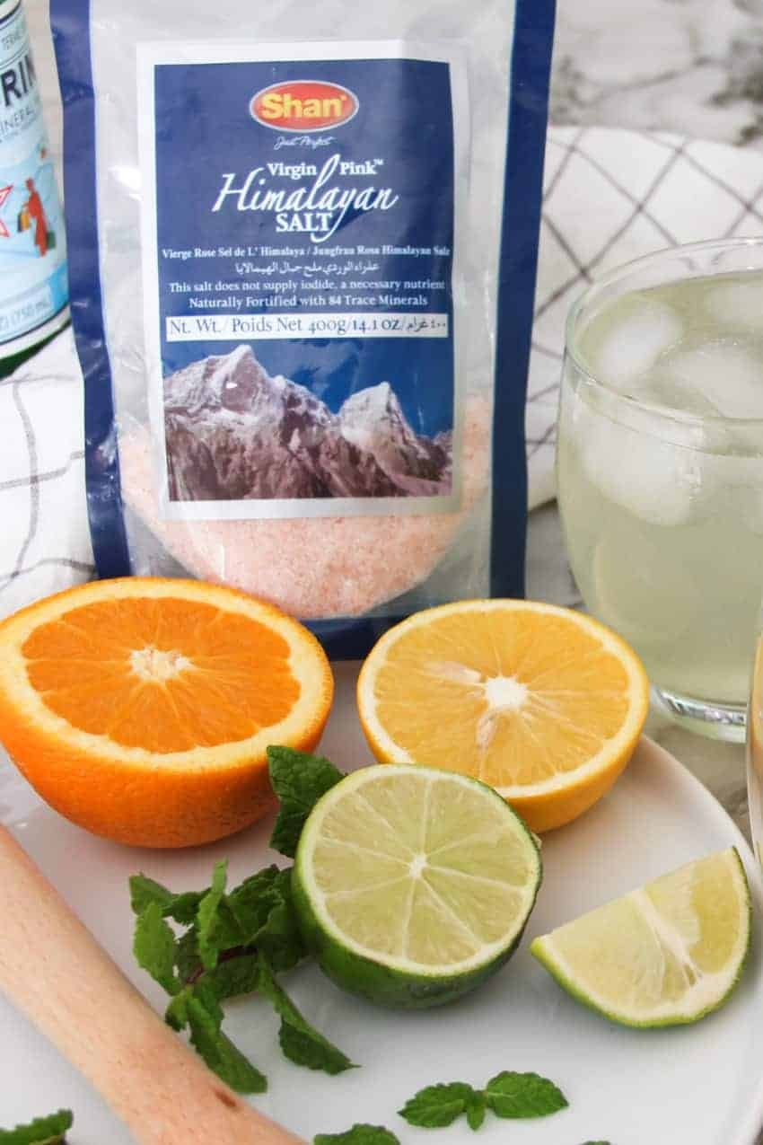 Homemade Electrolyte Drink with 3