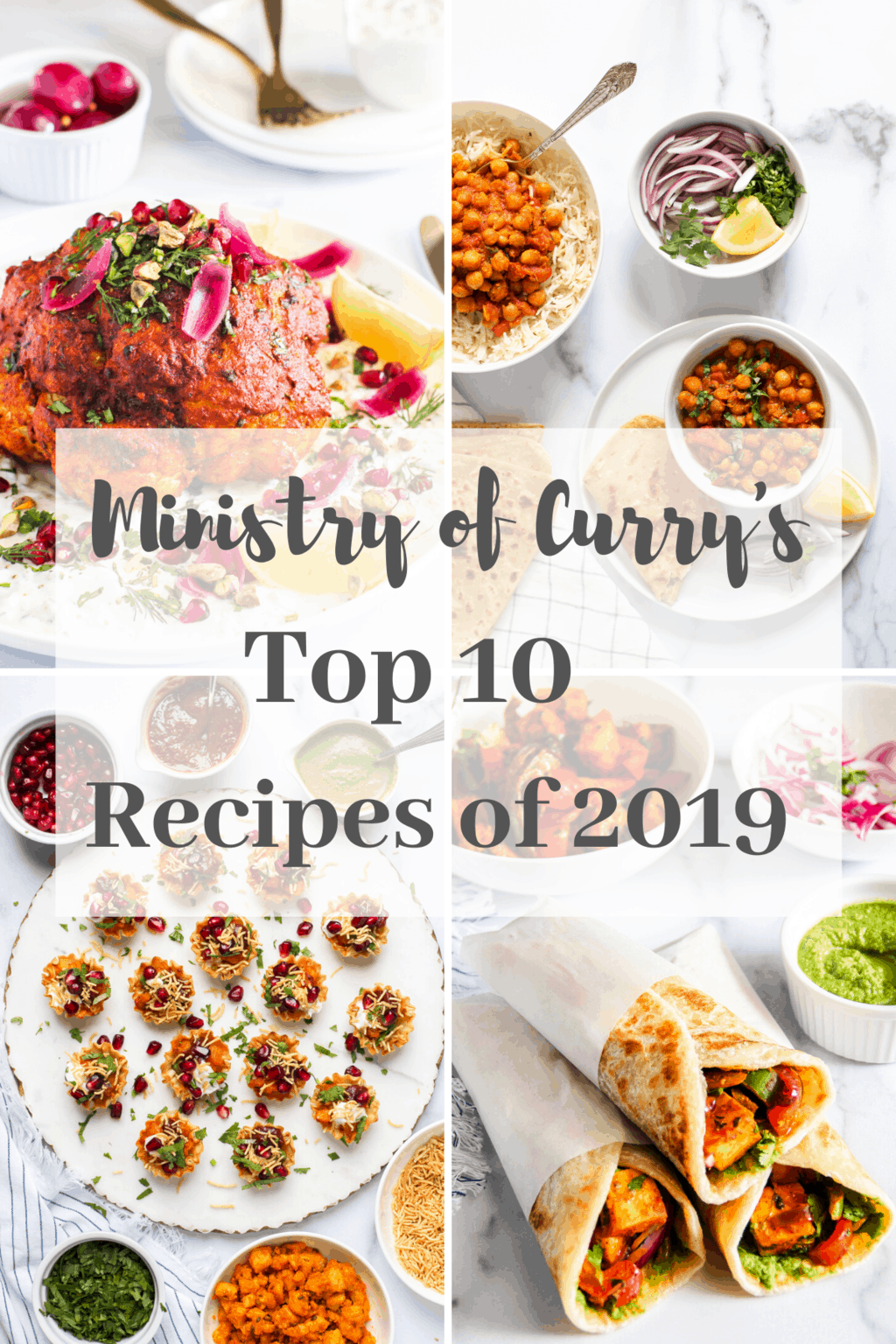 top 10 recipes collage