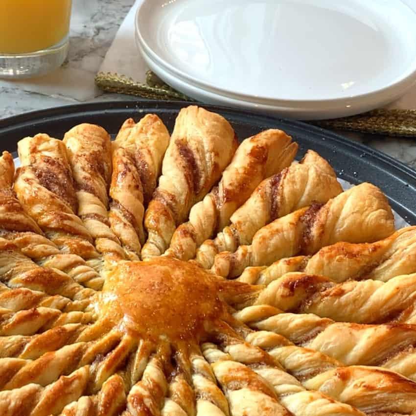 baked puff pastry khari