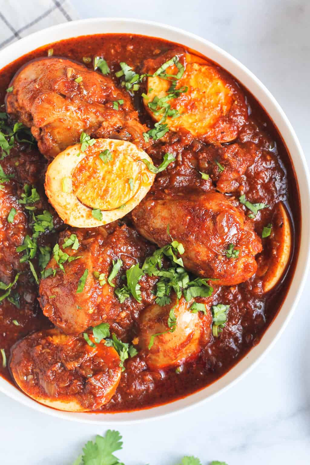 EASY Doro Wat, Ethiopian Spicy Chicken Recipe - Ministry of Curry