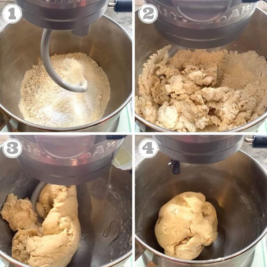 how to make puri dough using stand mixer