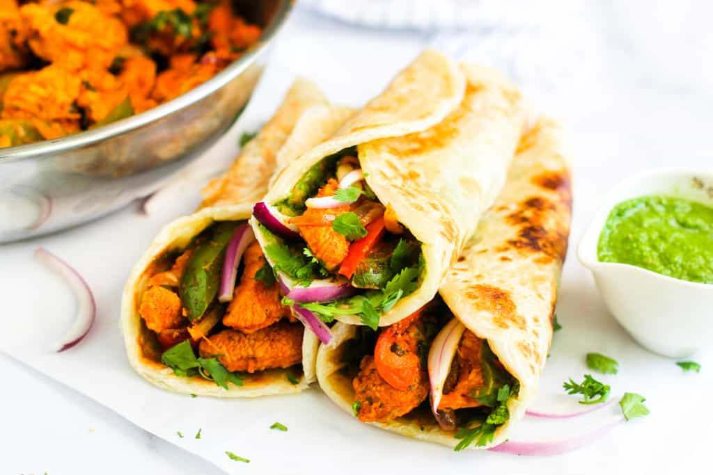 the best chicken kathi rolls recipe  ministry of curry