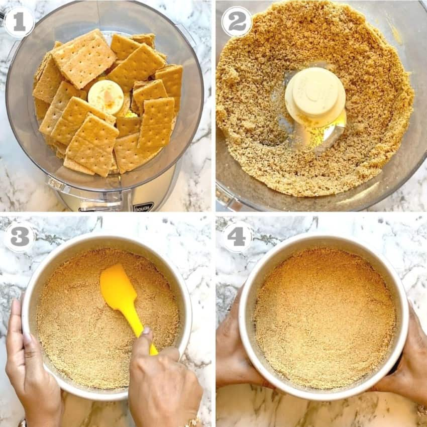 making graham cracker crust