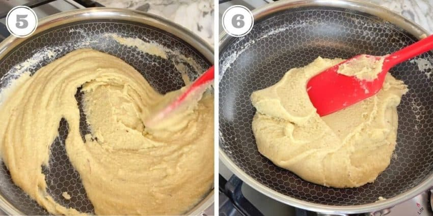 almond fudge mixture