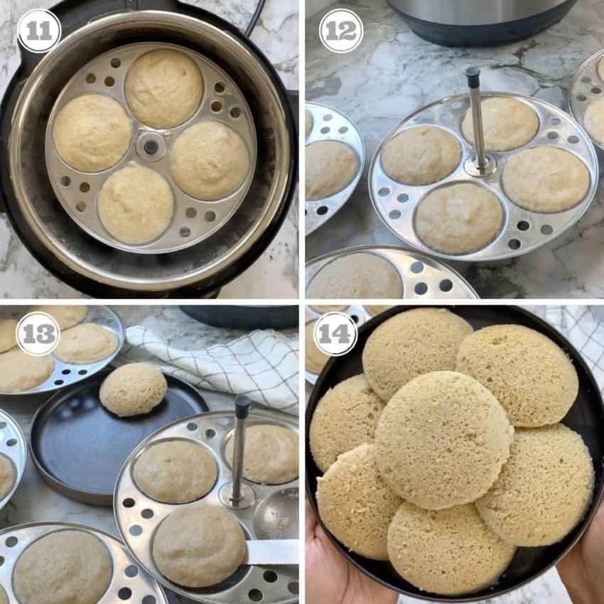cooked quinoa idli