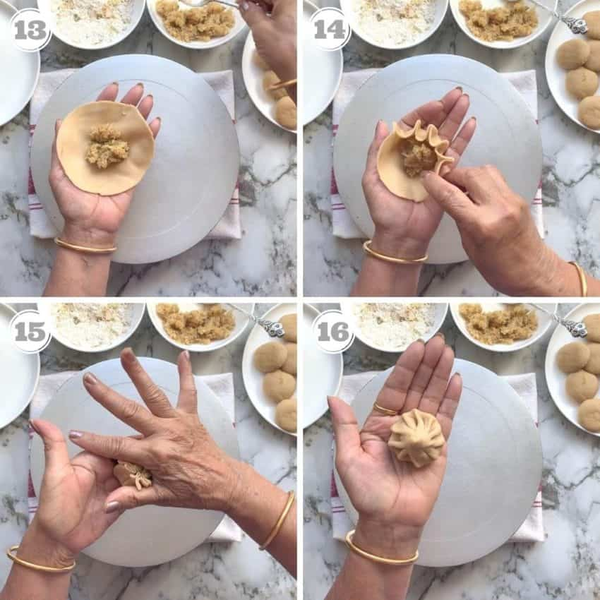 how to make modak dumplings