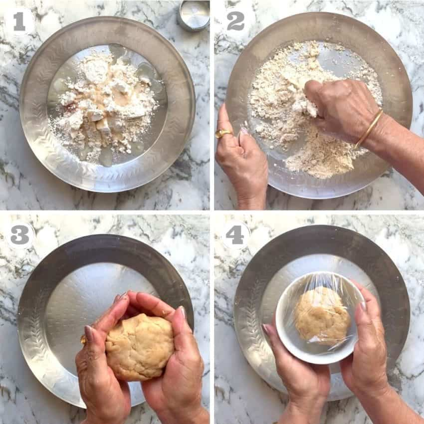 how to knead dough for modak