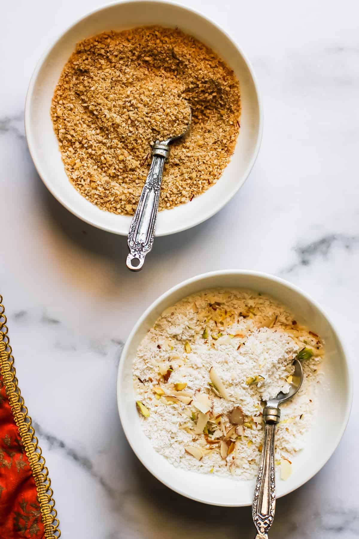 coconut & sesame filling for modak