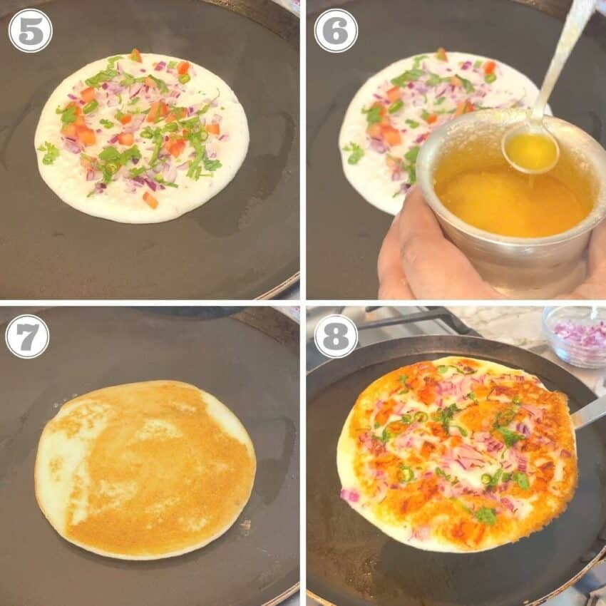 how to cook uttapam