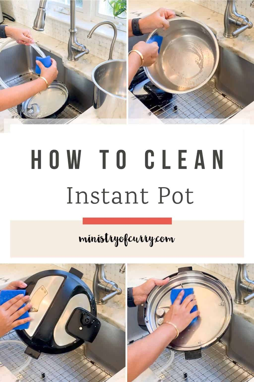 cleaning Instant Pot