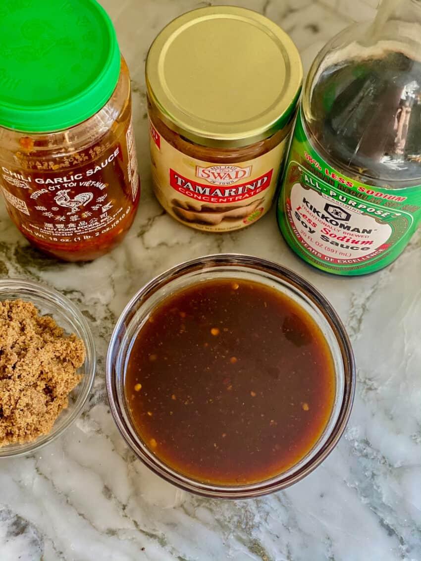 homemade pad thai sauce ingredients
