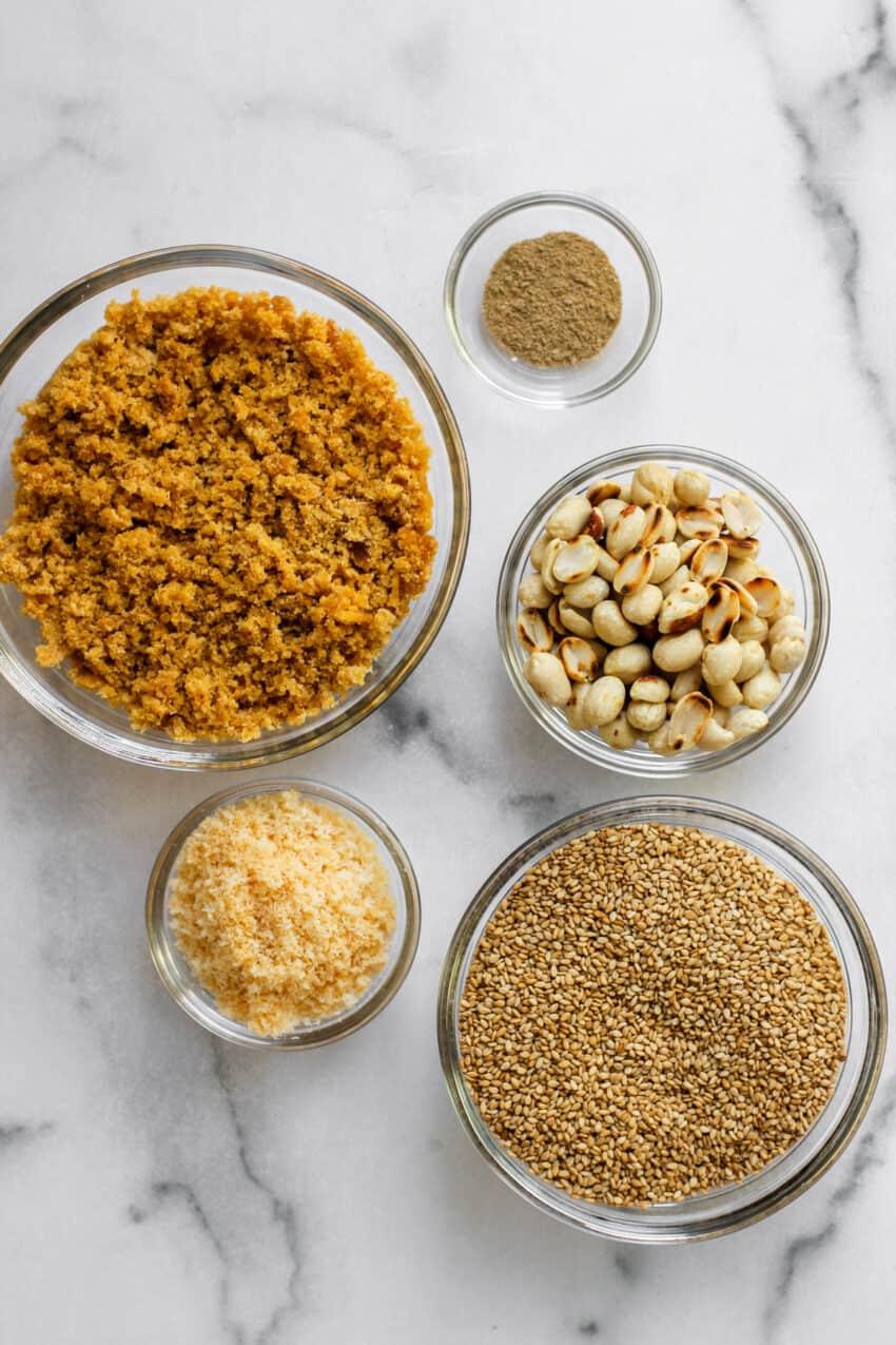 ingredients for til laddu