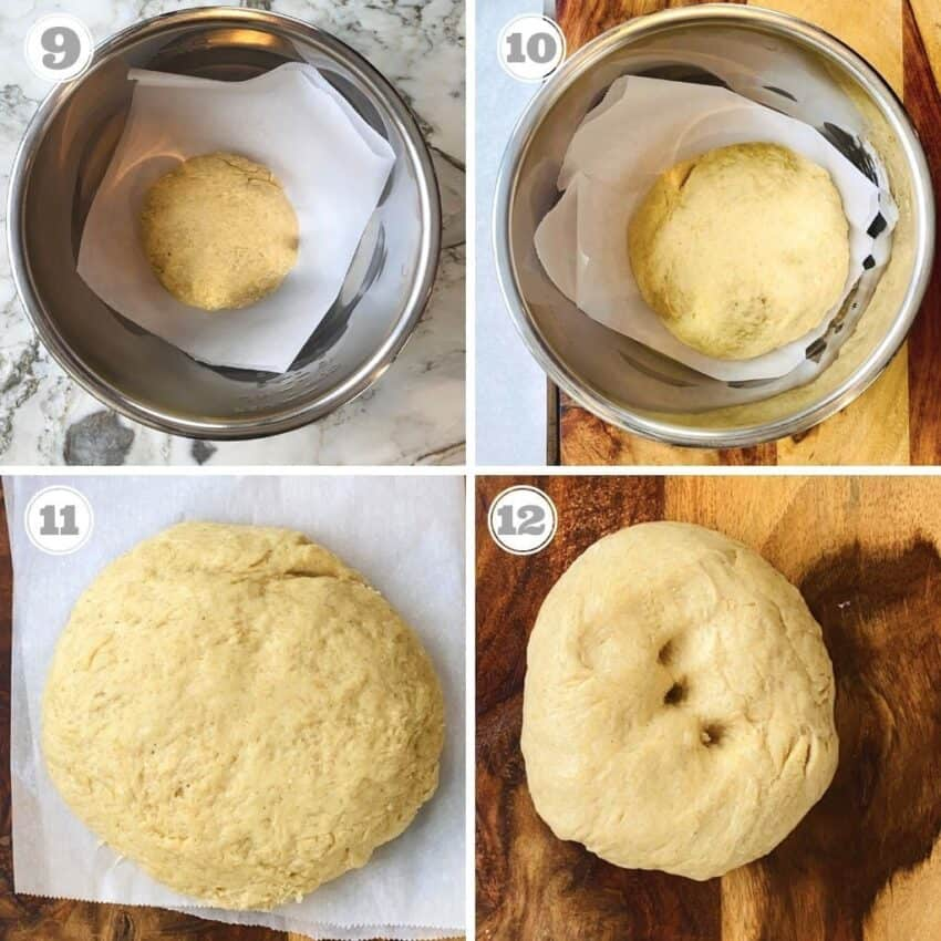 proofing donut dough in the Instant Pot