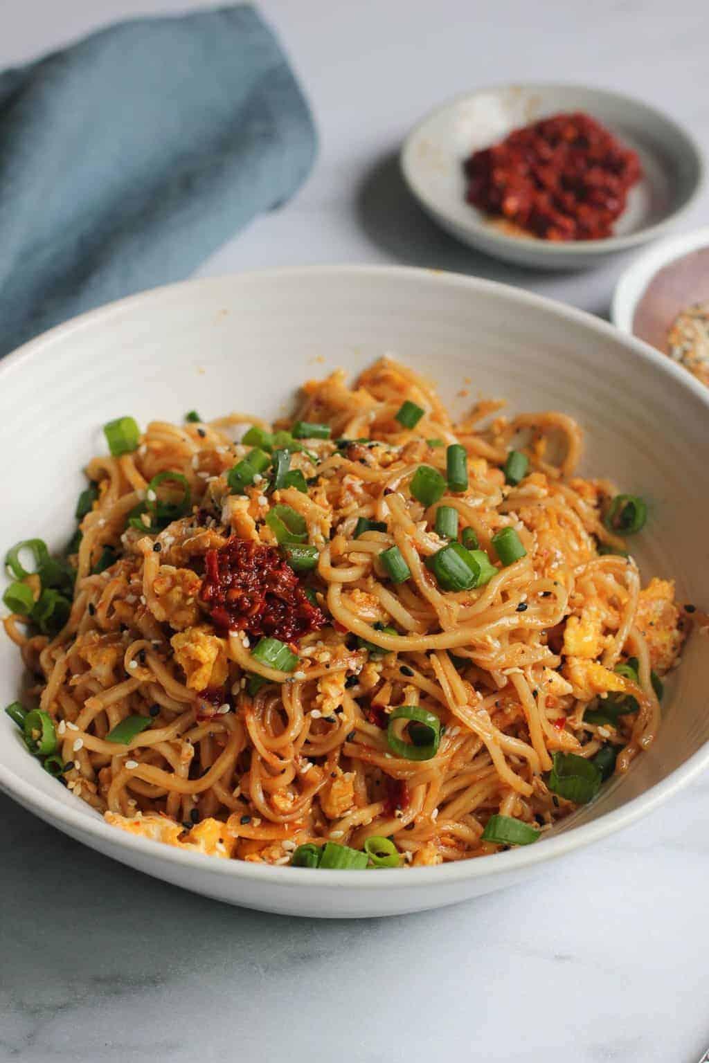 Stir Fried Ramen Noodles