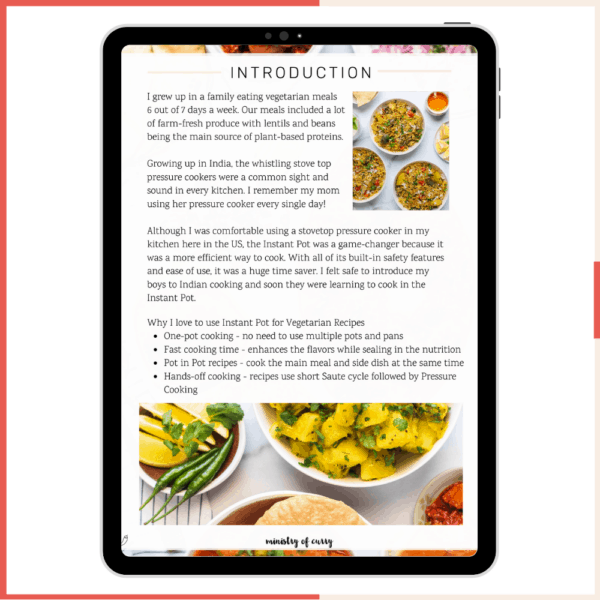 Vegetarian Instant Pot Recipes - Ministry of Curry