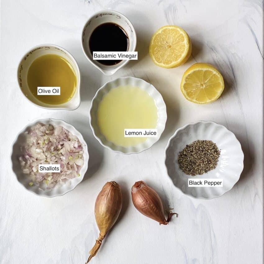 lemon balsamic dressing ingredients