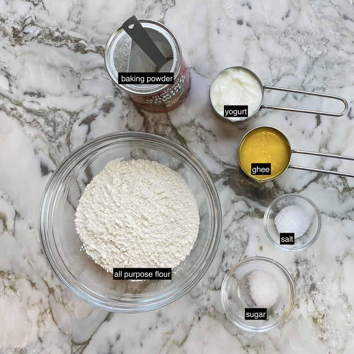balushahi dry ingredients